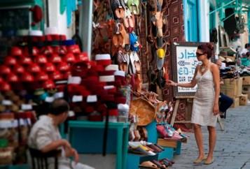 Turista en Túnez