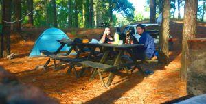 Disfrutando en el camping Costa Silvestre