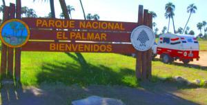 Con la minirodante en el PN El Palmar – Entre Ríos