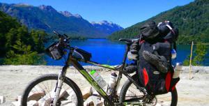 Ruta 7 lagos en bicicleta