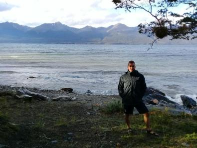 Lago Khami, inmediaciones de Laguna Palacios