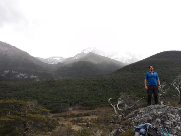 Vista al Valle Carbajal -altura Laguna Valdivieso