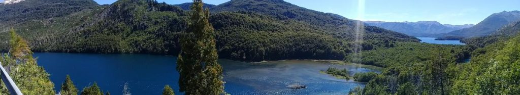 Lago Los Moscos y Lago Mascardi