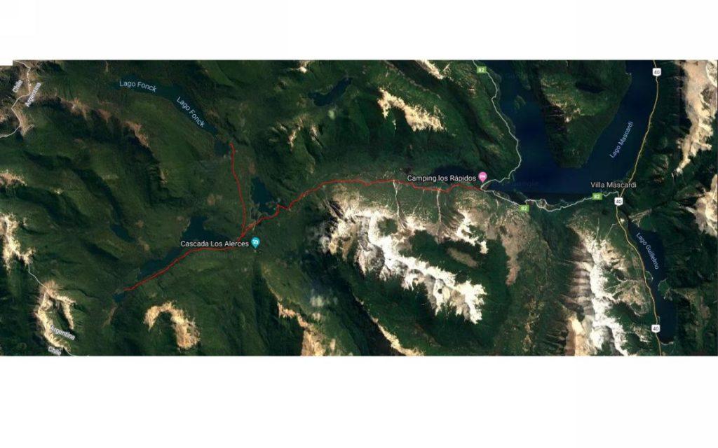 Mapa LR-LA