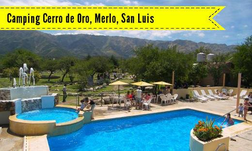 Complejo Cerro de Oro, Merlo, San Luis