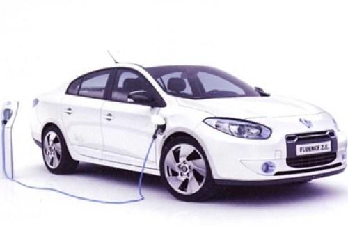 Renault Fluence Z.E. 100% eléctrico con autonomía de 160 km.