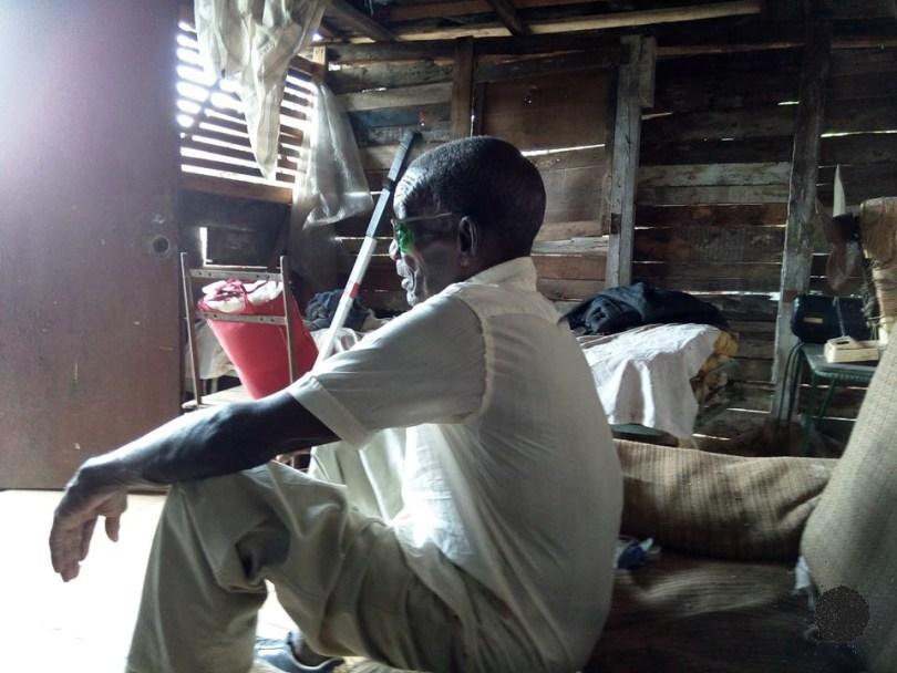 Desde hace veintisiete años, José vive en El Fanguito