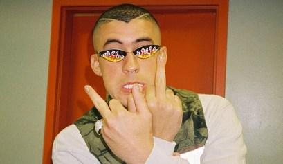 El cantante de música urbana Bad Bunny es uno de los líderes de las protestas en Puerto Rico.