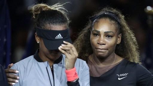 Serena Williams y Naomi Osaka. US Open 2018/ Foto: AP