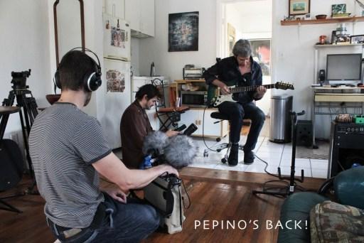 05. Pepino ensayando en Miami. Foto cortesía del músico.