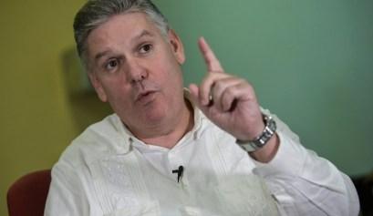 Alejandro Gil, ministro de Economía y Planificación de Cuba. YAMIL LAGE AFP