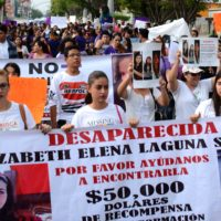 Marcha nacional contra las violencias machistas en Tuxtla Gutiérrez. Foto: Karina Álvarez/ Revista ENHEDUANNA.