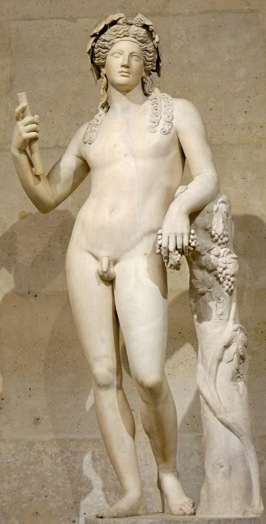 Dionísio. Museu do Louvre. Wikipedia.