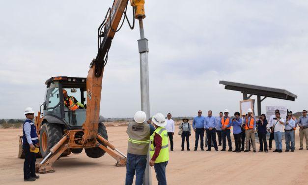 Inicia construcción de una Central Eléctrica Fotovoltaica en Baja California