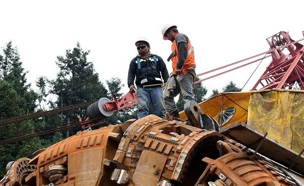 Personal en empresas constructoras creció 0.3 por ciento