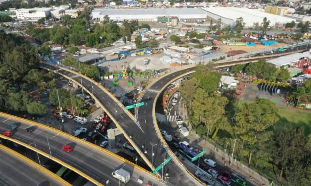 Entrega Gobierno de la Ciudad de México infraestructura urbana en Circuito Interior y Eje 6 Sur