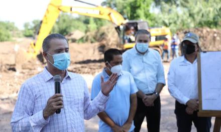 Inician construcción del Colector Norte de Guamúchil y entregan infraestructura en Sinaloa.