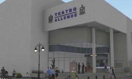 Inician trabajos para concluir construcción del Teatro Municipal de Allende en Nuevo León.