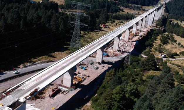 Concluyen 40.9 kilómetros del Tren Interurbano México-Toluca