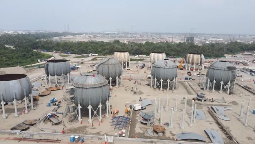 Avances al mes de agosto de los grandes proyectos de infraestructura en México