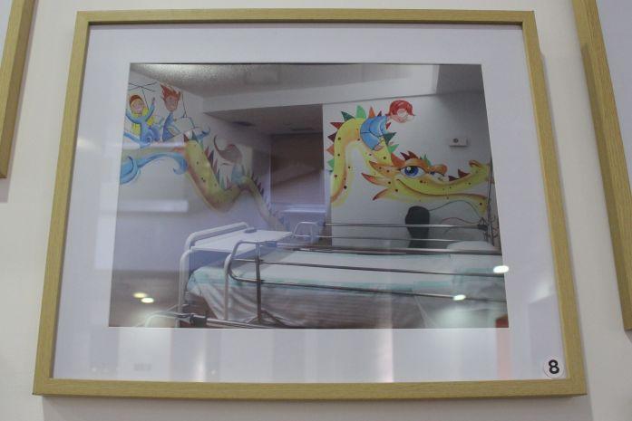 Dragón de David Guirao. Centro Joaquín Roncal. Exposición Believe In Art