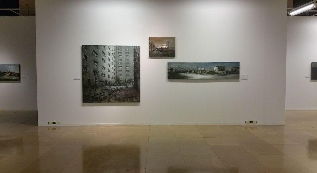 Ignacio Furtún exposición Lonja de Zaragoza.