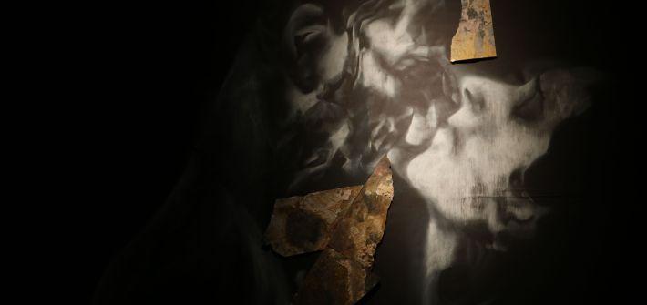 Detalle de 'Piedra y sol' de Cristina Huarte