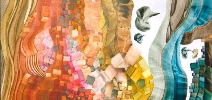 El gesto transitado. María Maynar. Temple al huevo sobre tabla6. Obra reciente 2016 - 2018