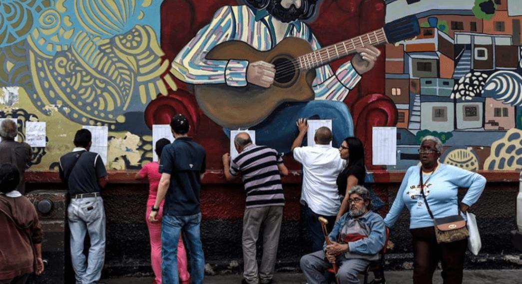 Éxito rotundo del chavismo en las elecciones municipales.