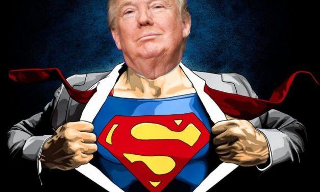 Trump se cree Superman; y Venezuela lo enfrenta con Criptomoneditas.
