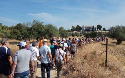 Vecinos de Córdoba recuperan un camino usurpado por la Iglesia.