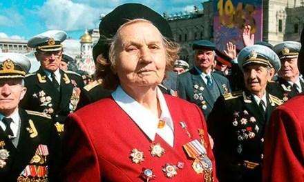 Bilbo: Actos de homenaje Día de la Victoria soviética contra el fascismo.