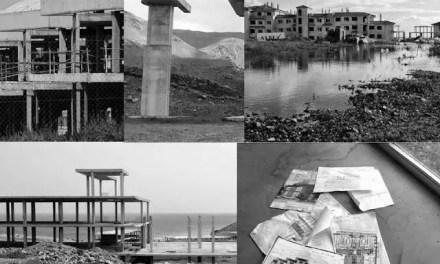 El paisaje de las modernas ruinas en España