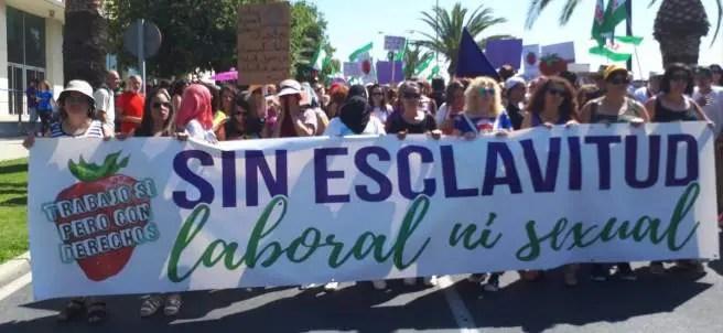 Comunicado del SAT ante las noticias recientes sobre las temporeras de Huelva.