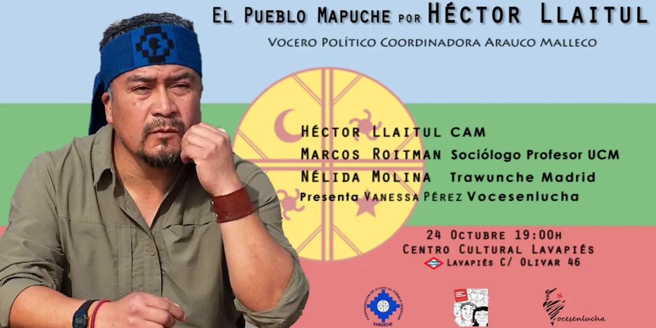 Conversatorio: El pueblo Mapuche por Héctor Llaitul.