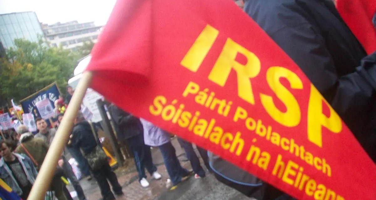 Entrevista al IRSP (Irish Republican Socialist Party).