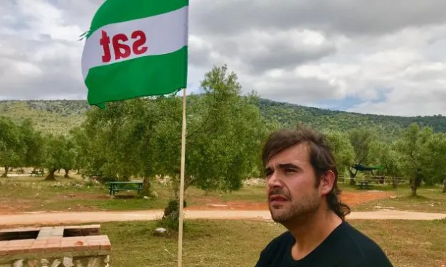 Detienen en Granada a Óscar Reina, portavoz del SAT.