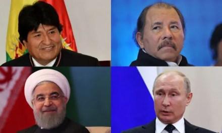 """El """"Eje del Mal"""" y la oposición internacional contra Venezuela."""