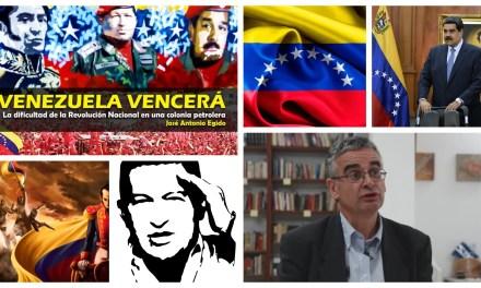 """Presentación del libro """"Venezuela Vencerá"""" de Jose Antonio Egido en la Universidad del País Vasco"""