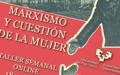 Nuevo taller sobre marxismo y cuestión de la mujer