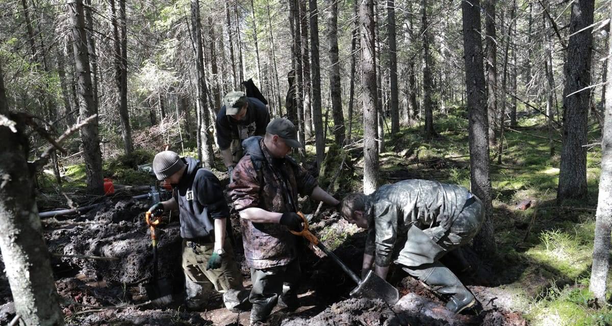 Encuentran el Medallón Mortal del miliciano asturiano Antonio Suárez quien luchó en la defensa de Leningrado