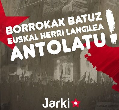 Comunicado de la organización revolucionaria JARKI sobre la muerte de Igor Gonzalez Sola y la suspensión de las jornadas de feminismo de clase
