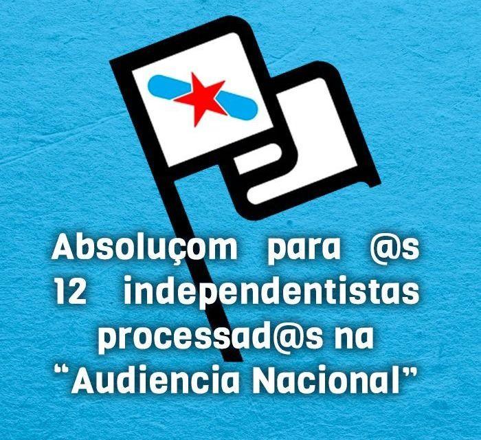 Entrevista a Joam Peres, independentista galego juzgado en la Audiencia Nacional