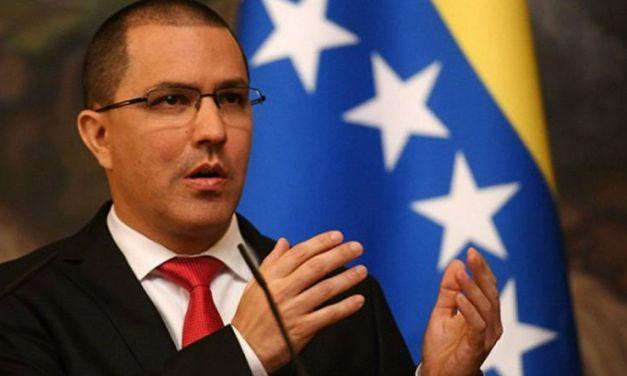Canciller Jorge Arreaza: No tendrán el menor sustento jurídico  para desconocer la voluntad del pueblo venezolano