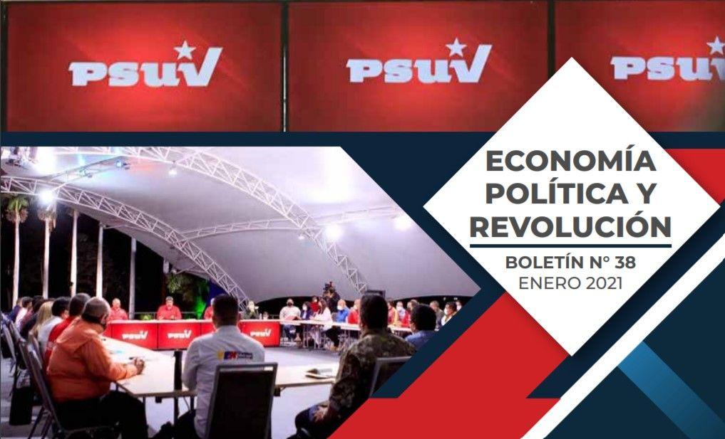 Boletín de economía política y revolución del  PSUV, Nº 38 – Enero 2021