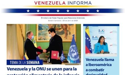 Venezuela Informa – 23 de abril de 2021