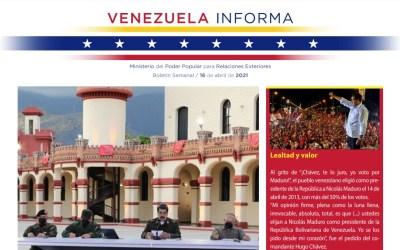 Venezuela Informa – Nº4 – 16 de abril de 2021