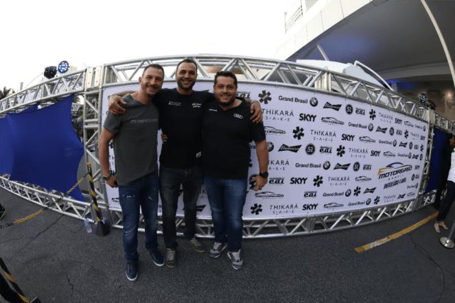 Rene Gonçalves, Carlos Emanuel Matias, Leonardo Palomba