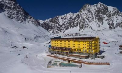 Portillo garante diversão para todas as idades na temporada de neve 2017