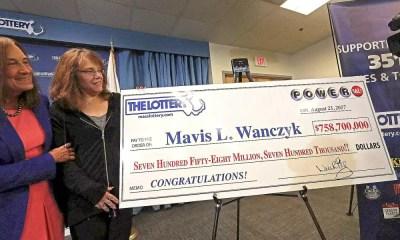 Americana ganha o equivalente a R$2,3 bilhões na loteria
